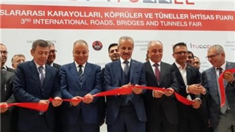 Karayolları Köprüler ve Tüneller İhtisas Fuarı açıldı