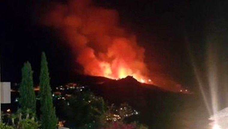 Konya'da sit alanında yangın!
