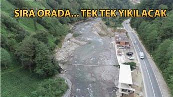 Kaçak yapıların yıkımı Fırtına Vadisi'nde sürecek