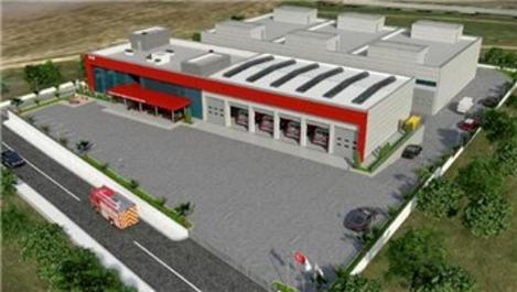 İzmir'e 5 yeni itfaiye binası inşa edilecek