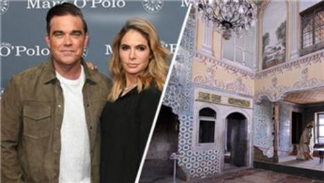 Robbie Williams'tan Türk eşine sultan dairesi!