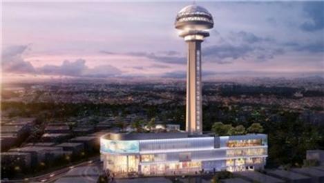 Ankara'nın simge binası Atakule yenilendi