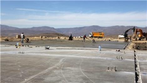 Bayburt'ta yalıtımlı duvar malzemesi üretilecek