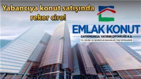 Emlak Konut'tan yabancıya 846.9 milyon TL'lik satış!