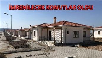 TOKİ, Ayvacık'ta 205 deprem konutunun kurasını çekti