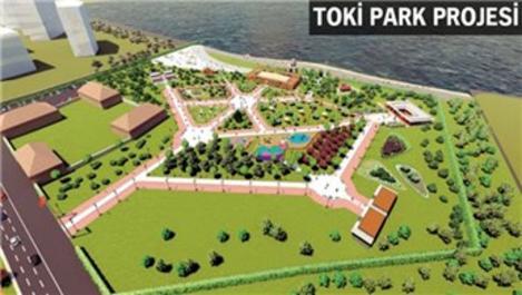 Ataköy'deki TOKİ Park projesi için kazma vuruldu!