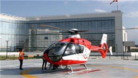 Kayseri Şehir Hastanesi heliport alanının açılışı yapıldı