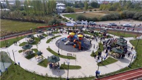 Van'da hafriyat alanı park haline getirildi