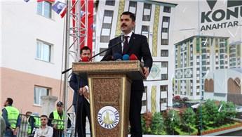 Sivas'ta Vefa Konutları'nın anahtar teslim töreni yapıldı