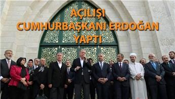 Orgeneral Hulusi Akar Camii ibadete açıldı