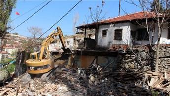 Ankara Yenimahalle'de gecekonduya yer yok