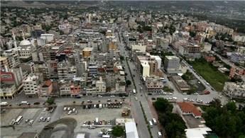 Reyhanlı'da konut inşaatı en hızlı sektör oldu