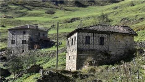 Santa Antik kentindeki tuğlayla yapılan bina doğal taşla kaplandı