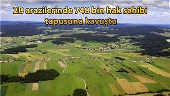 Bakan Kurum'dan 2B arazilerine ilişkin açıklama!
