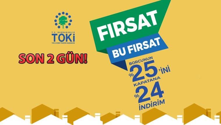 TOKİ'nin indirim kampanyasında son gün cuma!