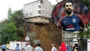 Binası çöken apartman sakinlerinden Arda Turan'a suç duyurusu!