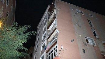 Şişli'de çökme tehlikesi bulunan binalar tahliye edildi