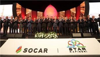 SOCAR'ın inşa ettiği dev yatırım 'Star Rafineri' açıldı