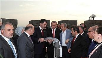Başkan Erdoğan, kentsel dönüşüm çalışmalarını inceledi