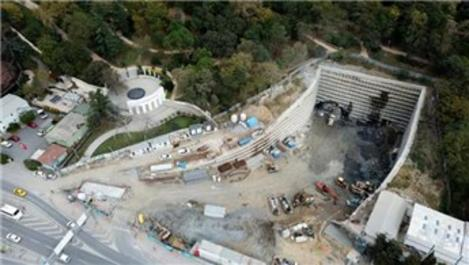 Dolmabahçe-Levazım Tüneli'nde son durum!