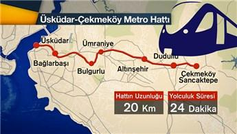 Üsküdar Ümraniye Çekmeköy metrosunda hangi duraklar var?