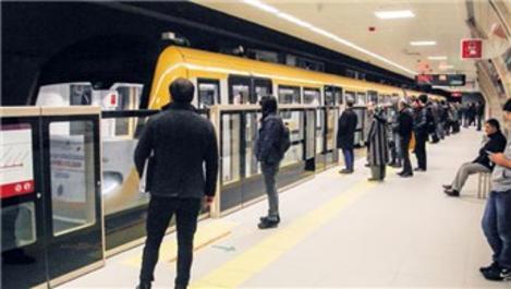Üsküdar-Çekmeköy metro hattı, ilk günde 179 bin 612 yolcu taşıdı