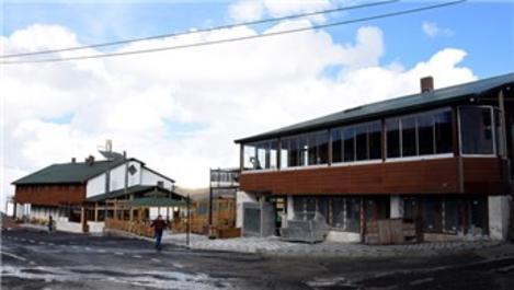 Zigana Dağı'ndaki tesislere 1,5 milyon liralık restorasyon!