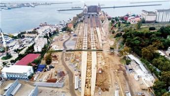 Haydarpaşa Garı'nın peronlarında antik limanın mendireği bulundu