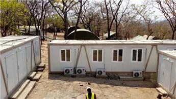 Karmod, Tanzanya'da altın madenine şantiye yapıları kurdu
