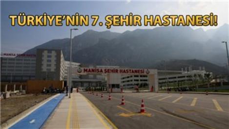 Manisa Şehir Hastanesi 27 Ekim'de hizmete başlıyor
