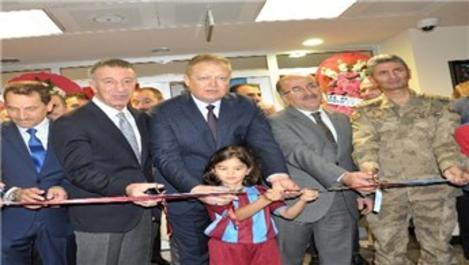 Trabzonspor'da yeni idari bina ve kamp tesisleri açıldı