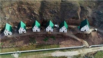 Gümüşhane'deki yayla evleri oteli andırıyor