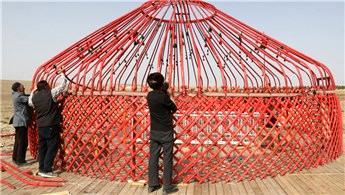 Kırgızlar, Yozgat'ta TOKİ'nin yaptığı evlere yerleşiyor