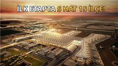 3. Havalimanı'na gidecek İETT hatları belli oldu