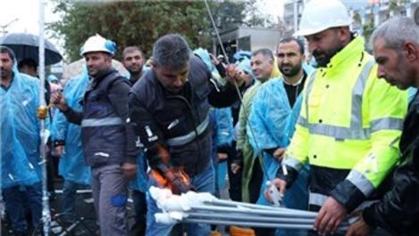 Diyarbakır'ın Bismil ilçesi doğal gaza kavuştu