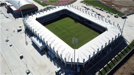 15 bin kişilik Batman Stadyumu hizmete girdi