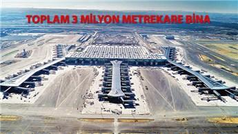 3. Havalimanı'nın inşaatı 42 ayda tamamlandı