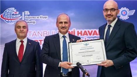 3. Havalimanı'nın sertifikasyon süreci tamamlandı