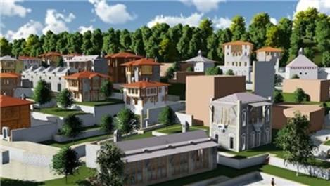 Sivas'taki tarihi kale açık hava platosuna dönüştürülüyor