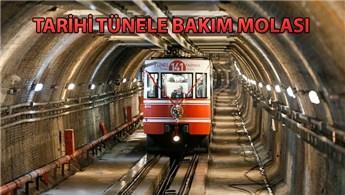 Tarihi Karaköy Tünel hattı 2 gün hizmet veremeyecek