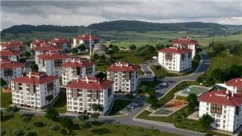 Uşak Karahallı'ya yöresel mimaride 352 konut!
