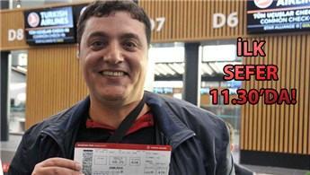 İstanbul Havalimanı'na ilk uçuş bugün yapılacak