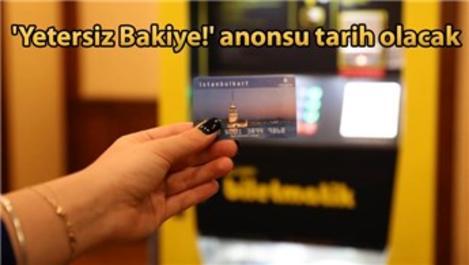 İstanbulkart mobil uygulaması hizmete girdi