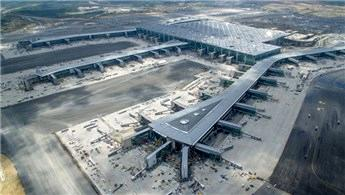 İstanbul Havalimanı, büyüklükte 46 ilçeyi solladı