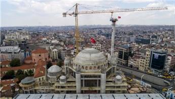 Taksim Camisi inşaatında sona yaklaşıldı