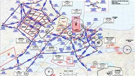 Marmara'nın yeni VFR trafik haritası yayınlandı