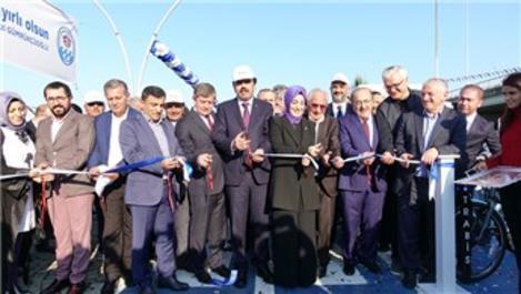 Trabzon'da 8 kilometrelik bisiklet yolu açıldı