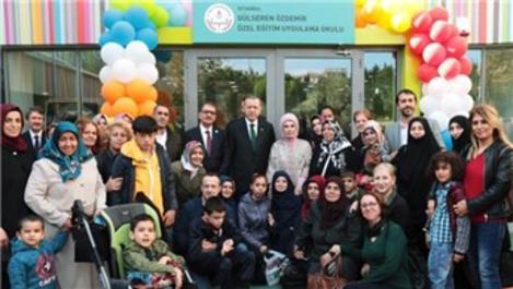 Limak Vakfı'nın engelli çocuklar için yaptığı okul açıldı
