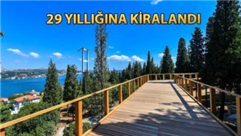 Nakkaştepe Millet Parkı'nı Cumhurbaşkanı Erdoğan açacak