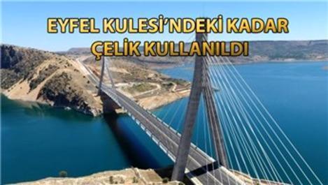 Nissibi Köprüsü'yle o yol 60 km kısaldı!